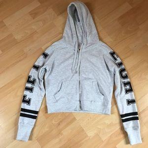 Cotton On Zip Front Hooded Sweatshirt